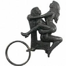 Chaveiro Em Metal, Articulado PosiçÕes Sexuais - Sexo Sentada